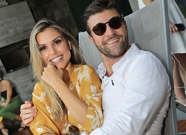 Marcelo Zangrandi e Flavia Viana (Foto: Leo Lemos/ Ed. Globo)