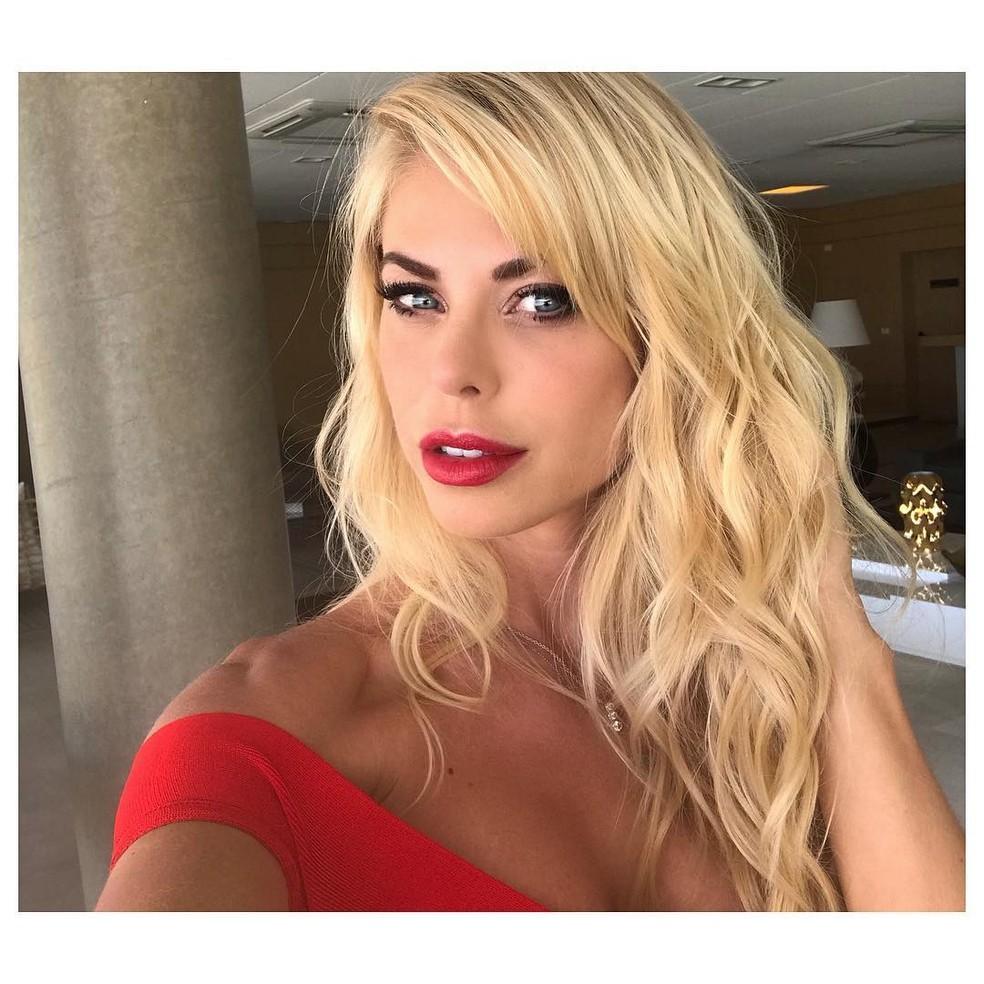 Modelo Caroline BIttencourt caiu da lancha durante vendaval na tarde de domingo (28) em Ilhabela â?? Foto: Reprodução/ Instagram