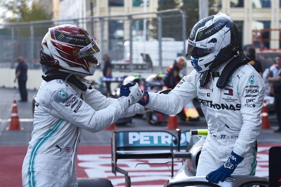 Diretor da Mercedes reconhece possibilidade da relação entre Hamilton e Bottas se deteriorar