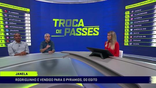 """Ricardinho se assusta com venda de Rodriguinho: """"Valor surpreendente"""""""