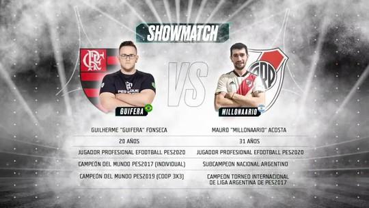 WESG Latam faz Show Match de Fla x River entre GuiFera e pro player argentino