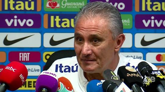 """Resultado de imagem para Tite diz que ele e a Seleção buscam se reinventar e vê time """"alegre sem ser irresponsável"""""""