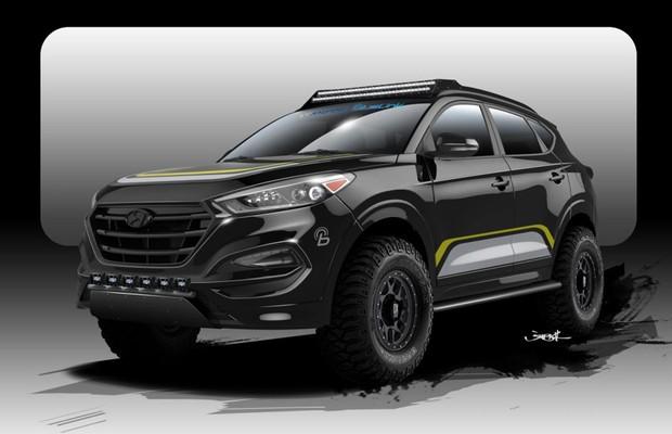 Hyundai Cria Tucson Off Road Para O Sema Auto Esporte