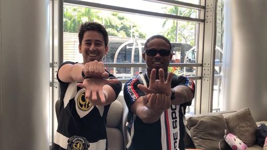 'Zappeando' desafia trio acreano e celebra Power Rangers