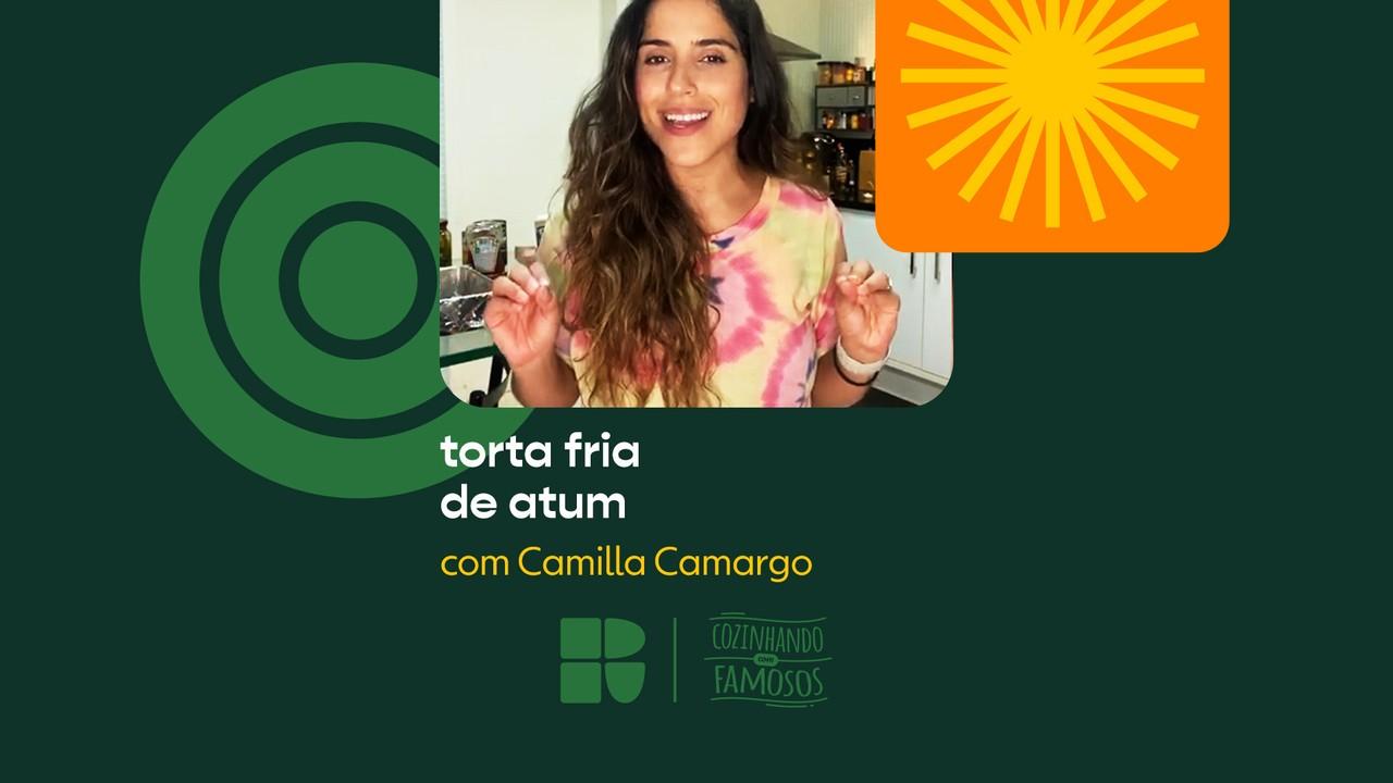 Camilla Camargo ensina a fazer Torta Fria de Atum