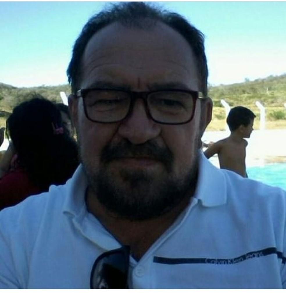 Médico veterinário do Idiarn, Tarciso Marcelino, de 56 anos, morreu vítima da covid-19 neste domingo, 11 — Foto: Cedida