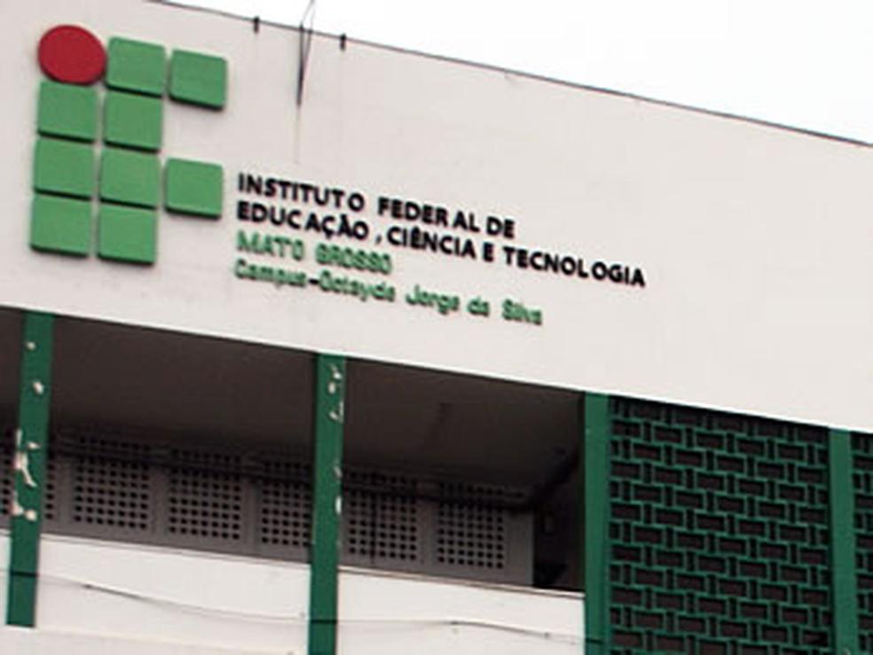 IFMT Cuiabá — Foto: Leandra Ribeiro/G1