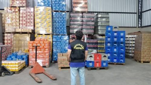 Sem notas fiscais, carga de bebidas estimada em R$ 5 milhões é apreendida pela Sefaz-AM