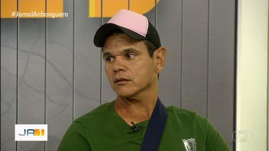 Técnico cai no mesmo buraco em que ajudante de pedreiro ficou cinco horas soterrado, em Goiânia