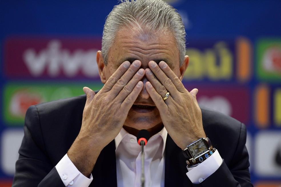 Tite faz análise da convocação da Seleção para amistosos — Foto: André Mourão / MoWA Press