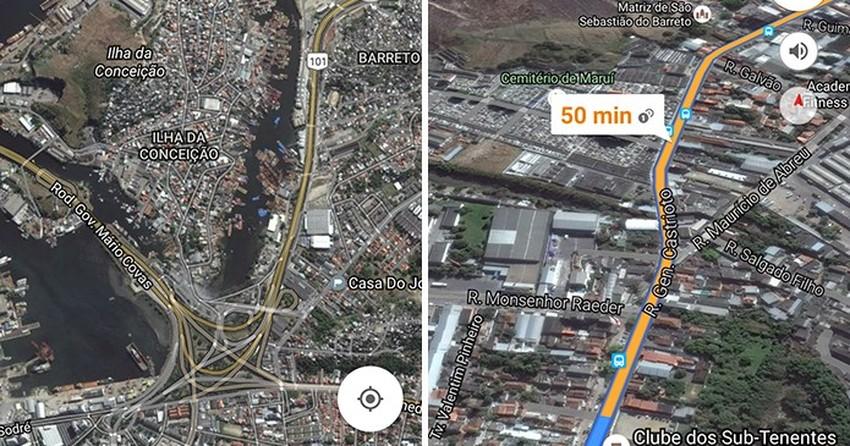 Kuntarajat Google Maps