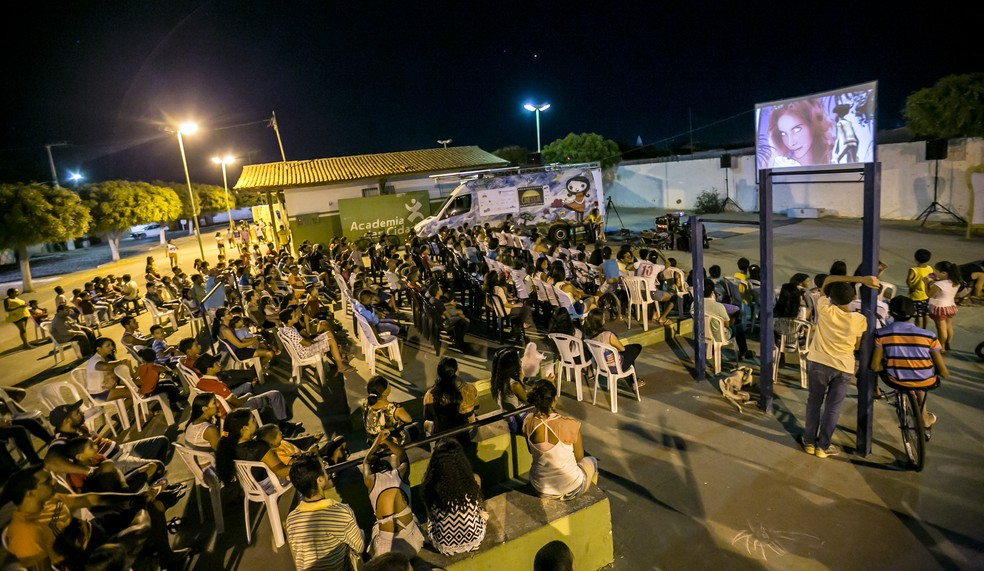 Cinesolar acontece nestas quarta (15) e quinta (16) em João Câmara, a 80 quilômetros de Natal (Foto: Enel Green Power/Divulgação)