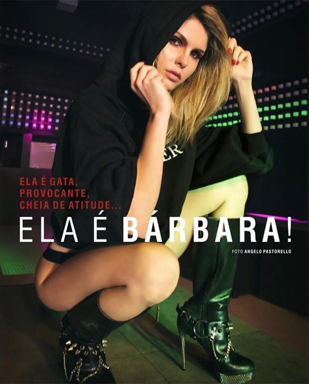 Bárbara Evans (Foto: Angelo Pastorello)