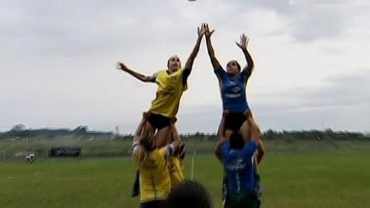 Seleção brasileira de rugby olímpico se prepara para os jogos de Londres