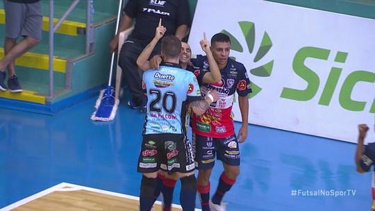 Os gols de Marechal Rondon 1 x 2 Cascavel pela Liga Nacional de Futsal
