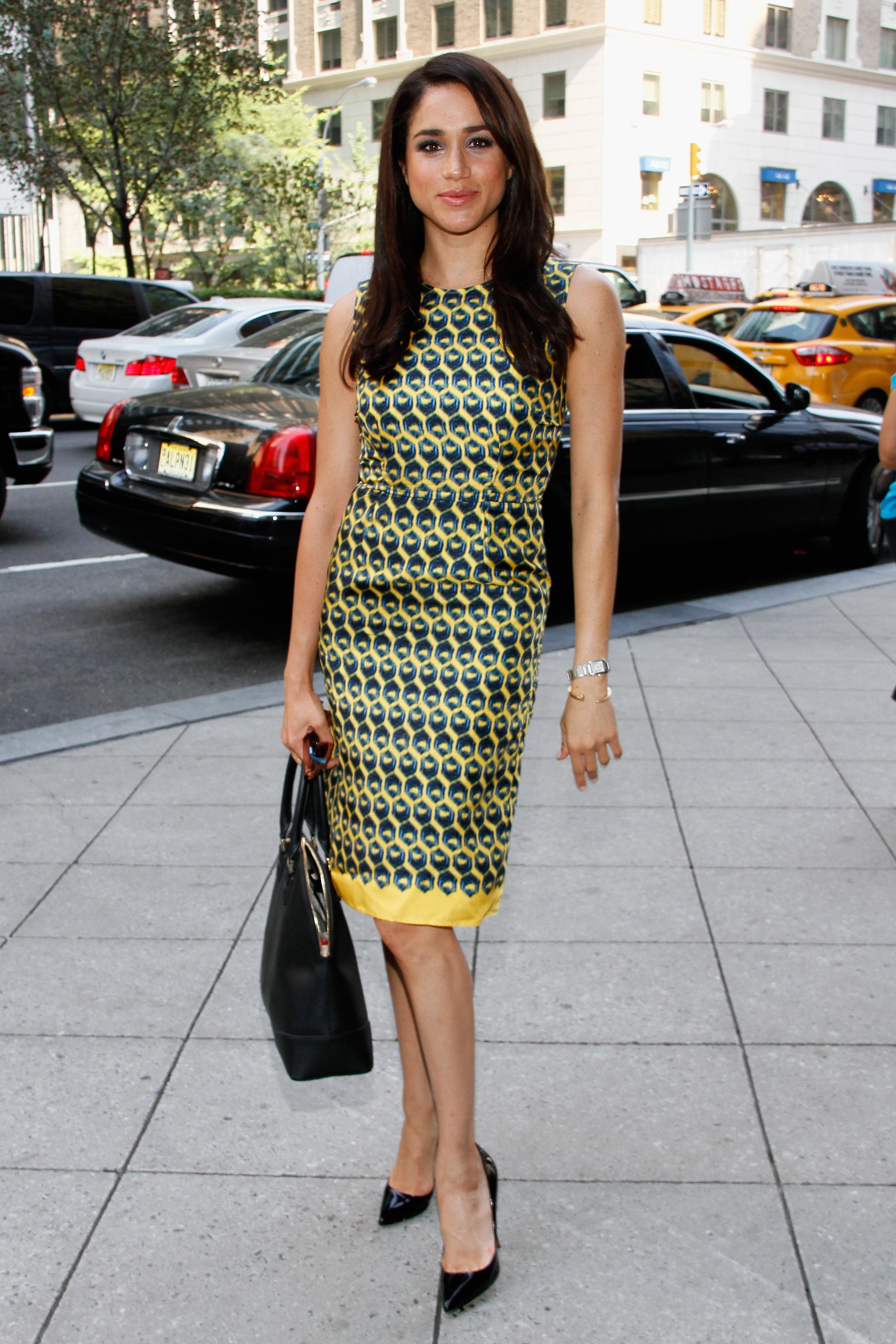 Meghan Markle no evento Annual Charity Day em 2013 em Nova York usando o relógio (Foto: Getty Images)