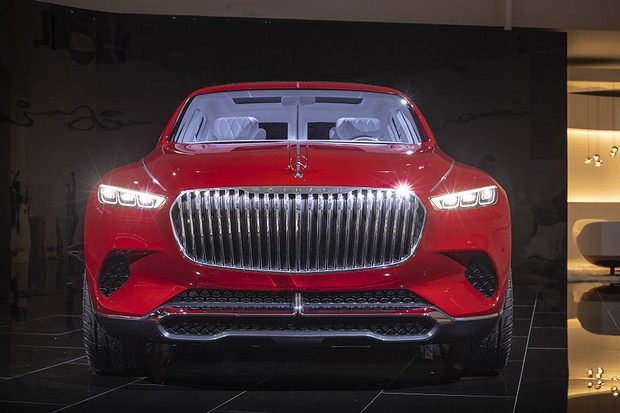 Vision Mercedes-Maybach Ultimate Luxury (Foto: Divulgação)