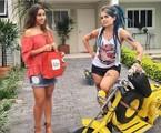 Lua Blanco e Thati Lopes em 'Ela é o cara' | Divulgação