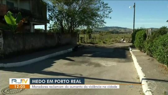 Moradores reclamam do aumento da violência em Porto Real