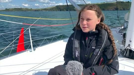 Líder ambientalista de 16 anos passará duas semanas em veleiro sustentável no mar