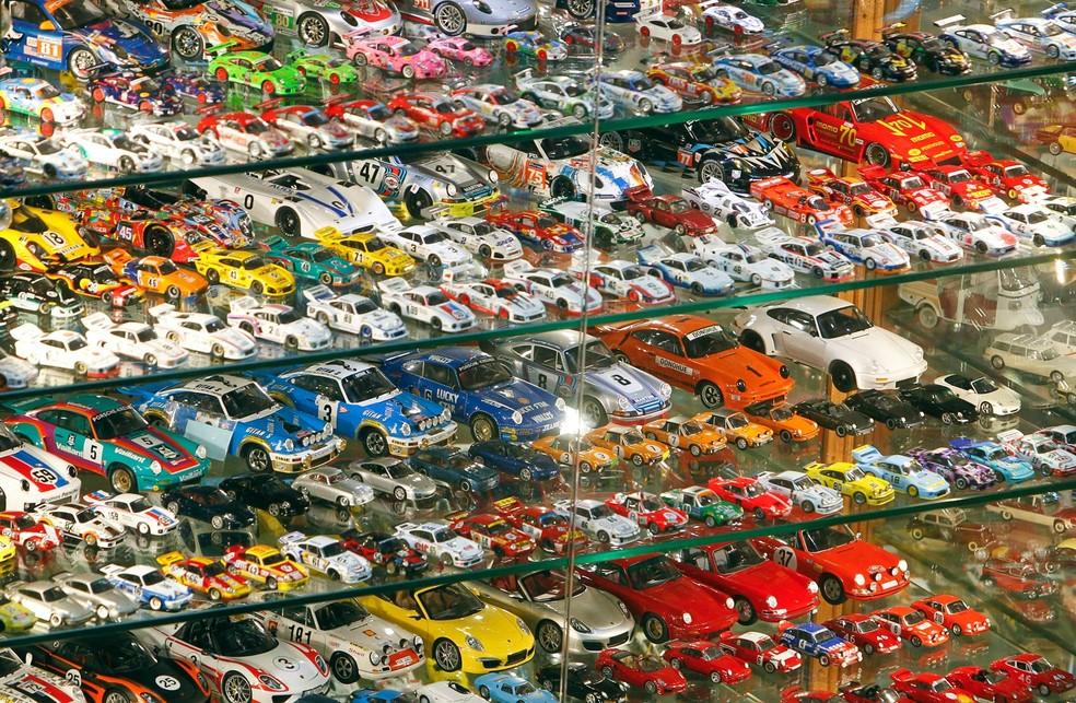 Karam conta com 37.777 carrinhos de brinquedo (Foto: Aziz Taher/Reuters)