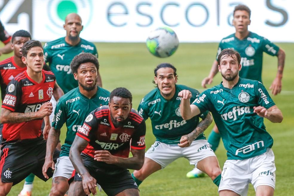 Notas da partida: confira as avaliações para os jogadores do Mengão na partida entre Palmeiras 1x1 Flamengo no Allianz