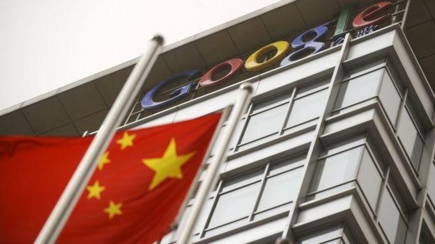 O Google desativou seu mecanismo de busca na China em 2010, mas ainda emprega 700 pessoas no país em outros projetos (Foto: AFP/via BBC News Brasil)