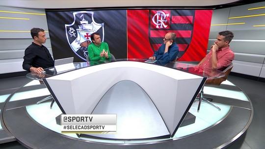 Foi bom pra você? Seleção SporTV analisa quem se saiu melhor no empate entre Vasco e Flamengo