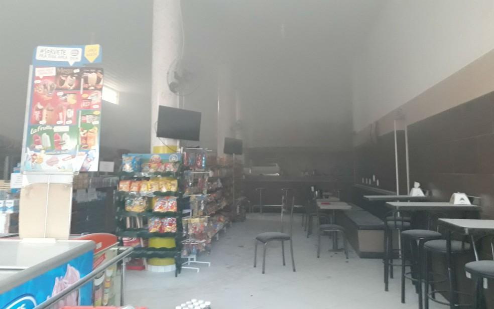 Homem tentou incendiar ex e acabou colocando fogo em padaria na Bahia (Foto: Site Verdades Políticas  )