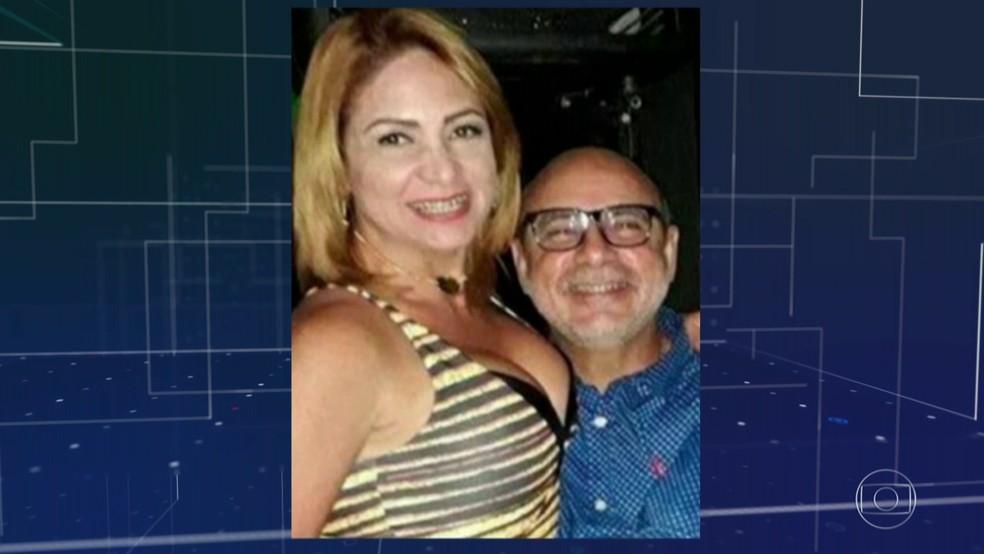 STJ concede prisão domiciliar a Fabrício Queiroz e à mulher, Márcia Aguiar, foragida — Foto: Rede Globo