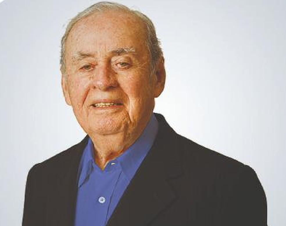 Empresário Antônio de Queiroz Galvão morreu aos 96 anos — Foto: Grupo Queiroz Galvão/Divulgação