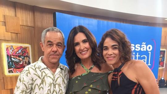 Luciana Lima e Fernando Sampaio falam sobre peça no 'Encontro'