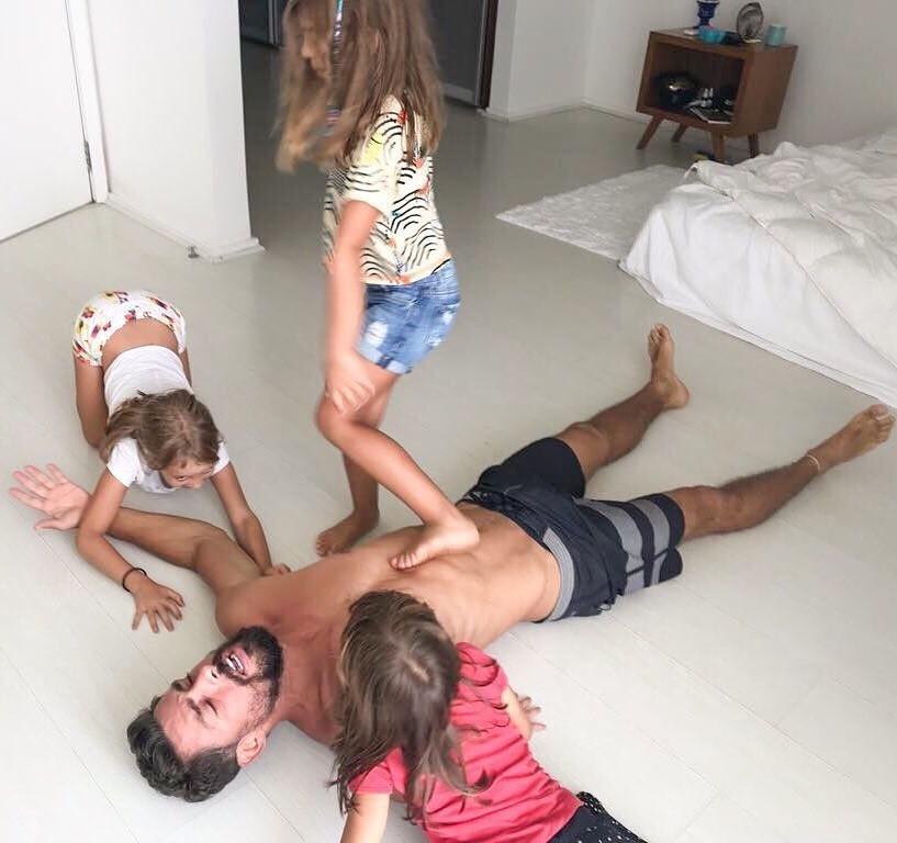 Cauã elogia Grazi Massafera e fala da missão em educar bem uma menina (Foto: Reprodução/ Instagram)
