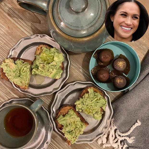 Meghan Markle recebe amigo para café da manhã. Veja a foto e faça na sua casa (Foto: Reprodução/ Instagram)