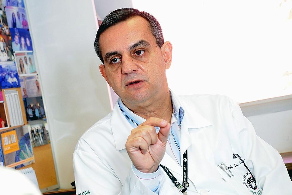 O pediata Gil Guerra Júnior, coordenador da pesquisa na Unicamp (Foto: Antoninho Perri/Unicamp)