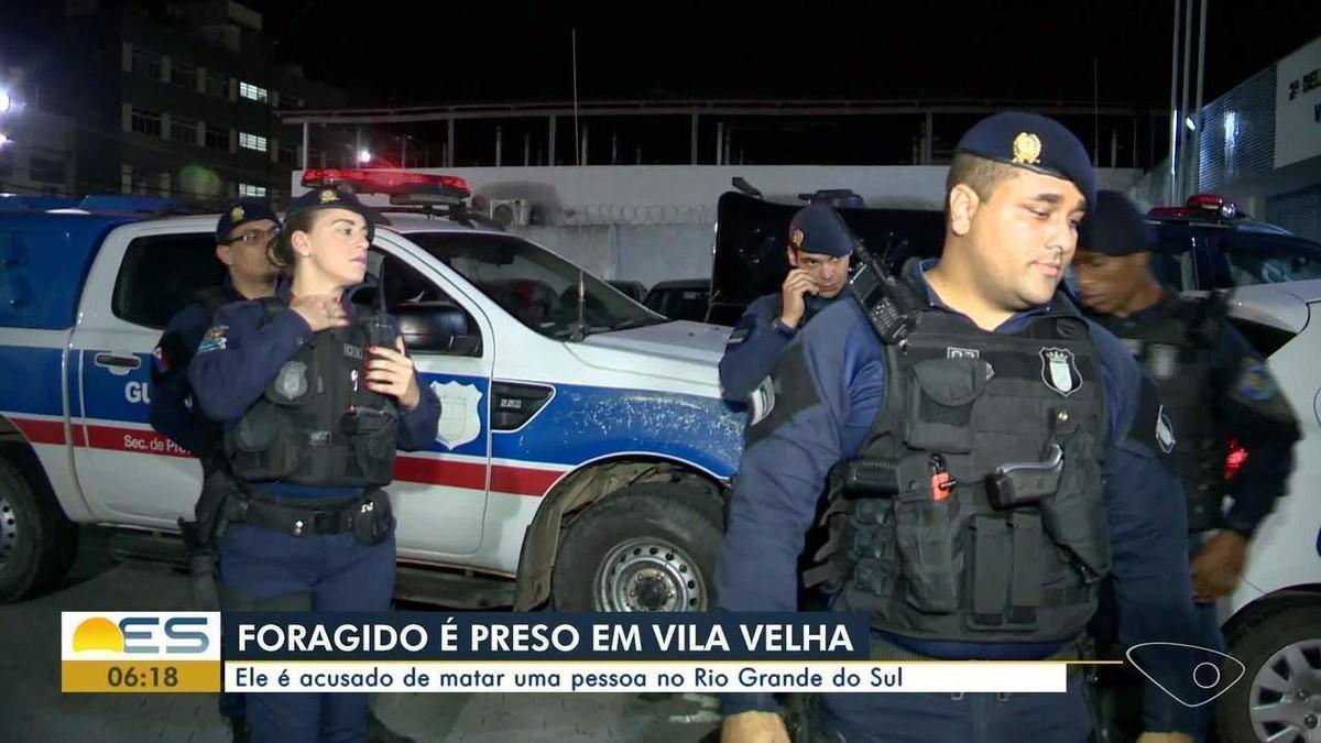 Foragido da Justiça há 15 anos é preso em Vila Velha, ES - G1