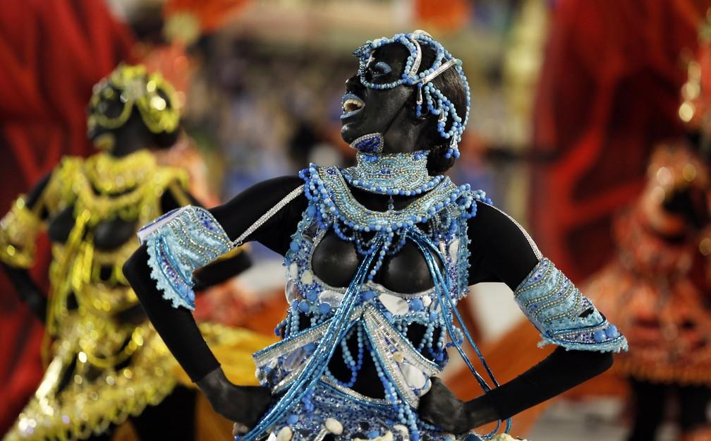 Salgueiro faz viagem à África para homenagear mulheres negras (Foto: Marcos Serra Lima/G1)