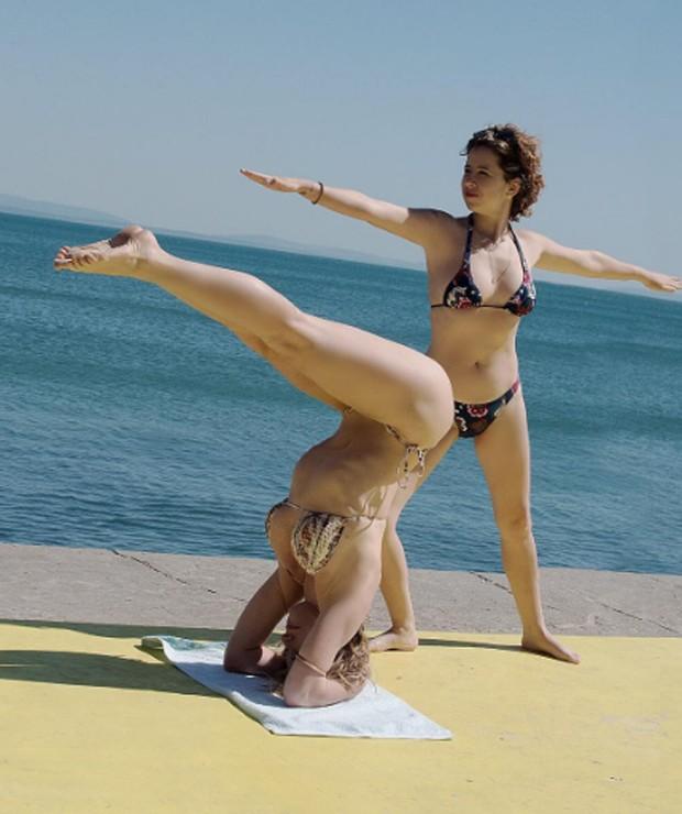 Letícia Spiller e Maureen Miranda (Foto: Reprodução/Instagram)