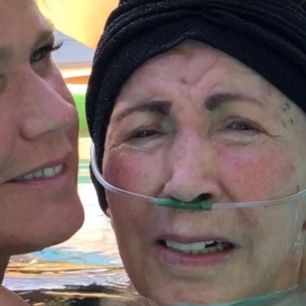 Xuxa com a mãe, Alda Meneghel (Foto: Reprodução/Instagram/Xuxa Meneghel)