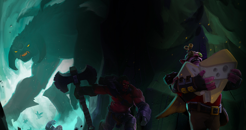 Novo modo de Dota 2 se parece com Battle Royale (Foto: Divulgação/Valve)