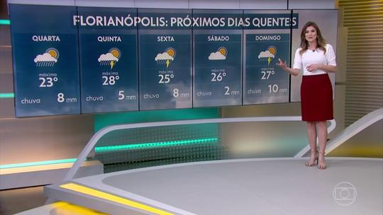 A gangorra das temperaturas: próximos dias terão calor no Sul e no Sudeste