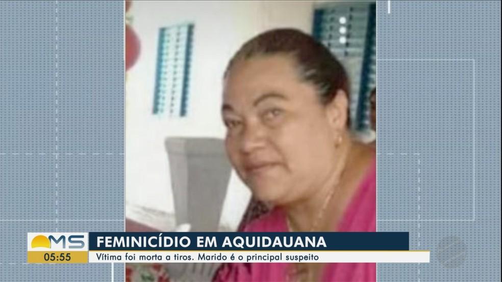 Pastora morta em Aquidauana — Foto: Reprodução/TV Morena