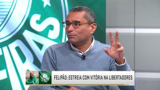 """Rizek elogia Felipão e ressalta história do treinador no futebol: """"Personagem fascinante"""""""