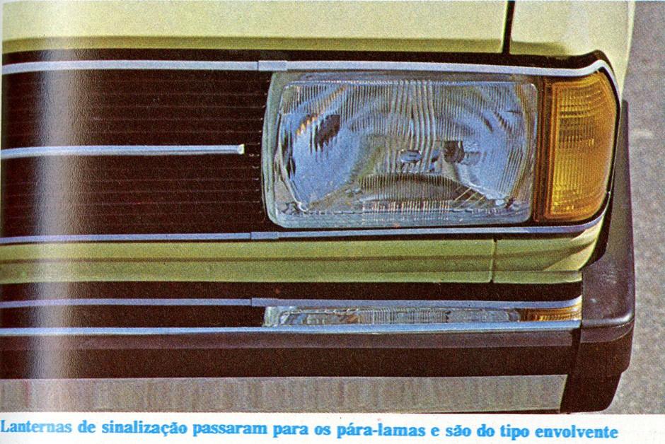 Volkswagen Passat LS 1979 (Foto: Reprodução Autoesporte)