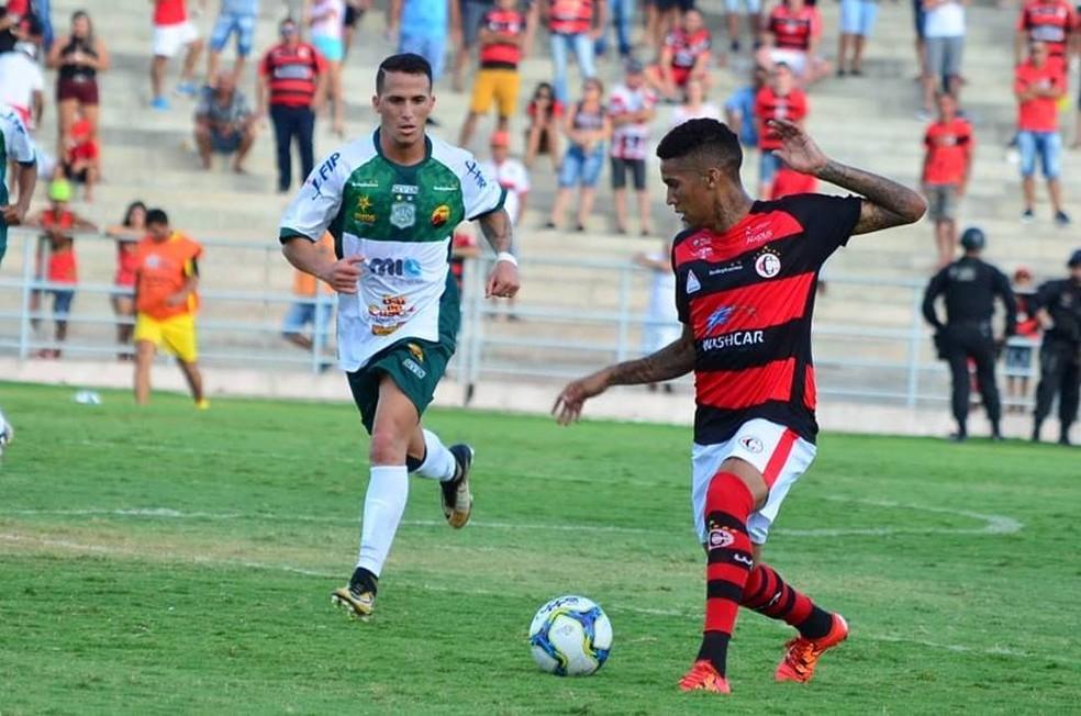Nacional de Patos é quarto colocado do Grupo A do Campeonato Paraibano, com seis pontos conquistados — Foto: Samy Oliveira/Campinense