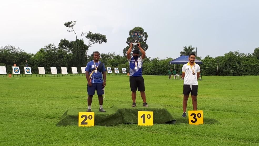 Nelson Moraes conquistou o bicampeonato brasileiro Juvenil — Foto: Divulgação