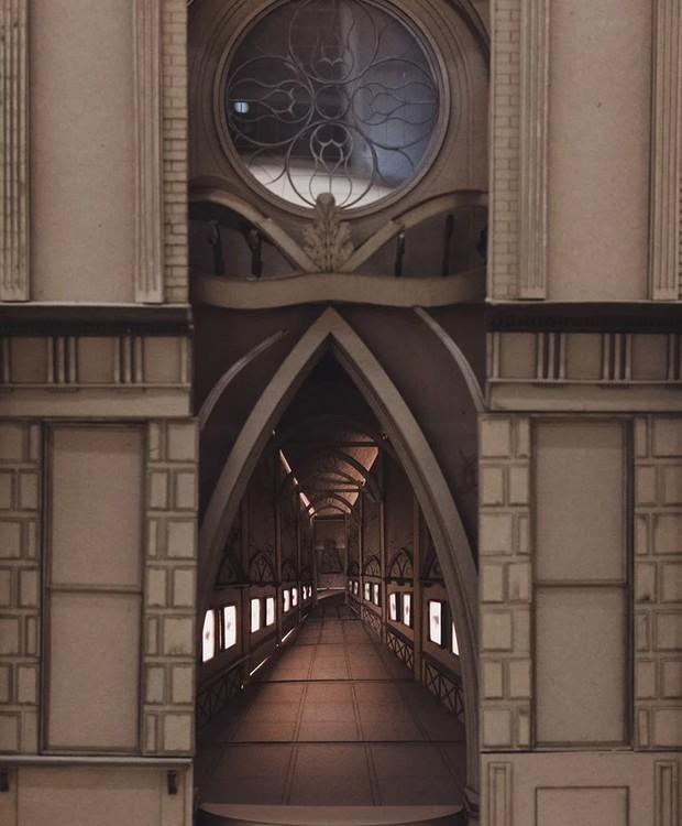Largo Grimmauld, de Harry Potter (Foto: Melbourne School of Design/ Reprodução)