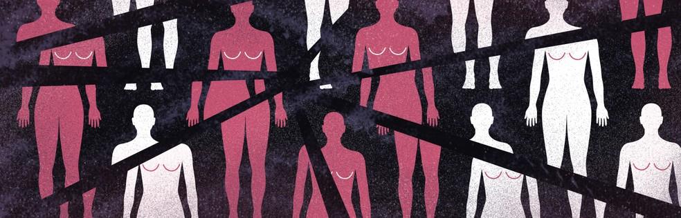 Mulheres assassinadas — Foto: Alexandre Mauro/G1