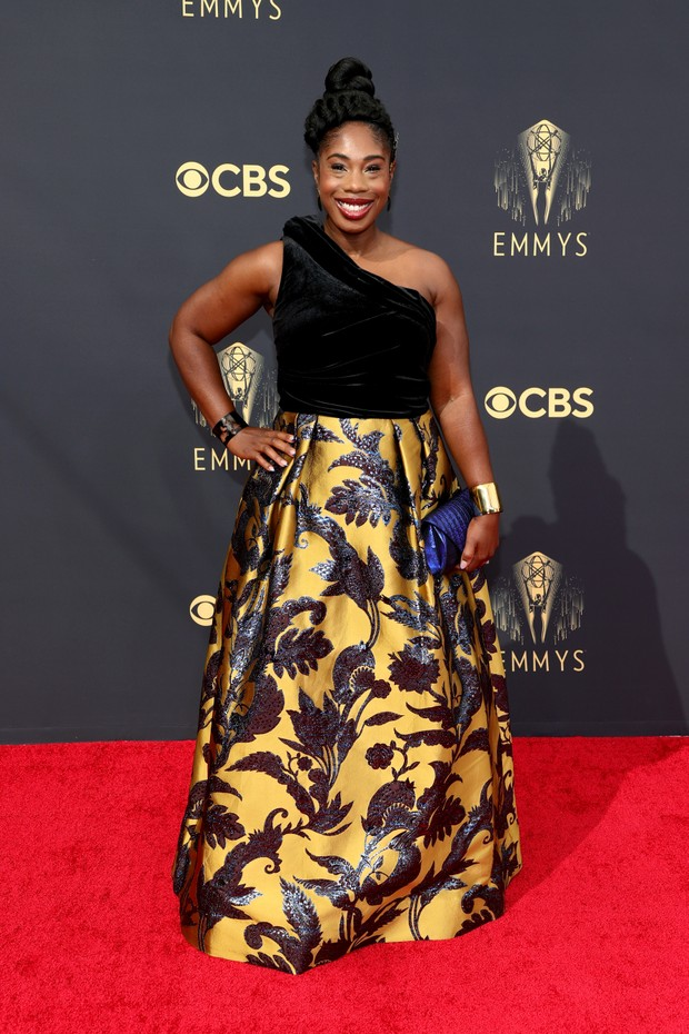 LOS ANGELES, CALIFORNIA - SEPTEMBER 19: Lauren Ashley Smith attends the 73rd Primetime Emmy Awards at L.A. LIVE on September 19, 2021 in Los Angeles, California. (Photo by Rich Fury/Getty Images) (Foto: Getty Images)