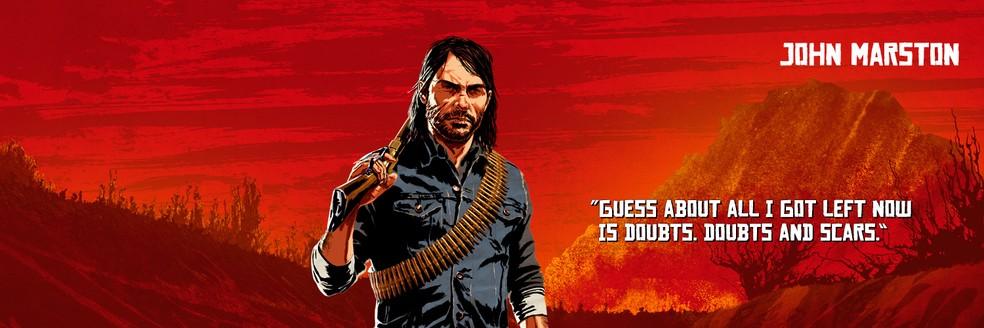 John Marston, de Red Dead Redemption 2 — Foto: Divulgação/Rockstar